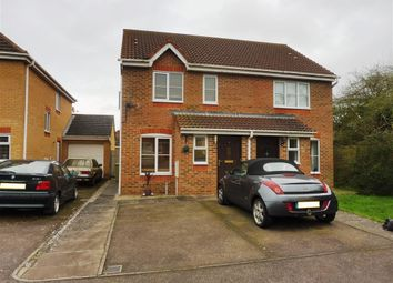 Thumbnail 2 bed semi-detached house to rent in Waterford Close, Bletchley, Milton Keynes