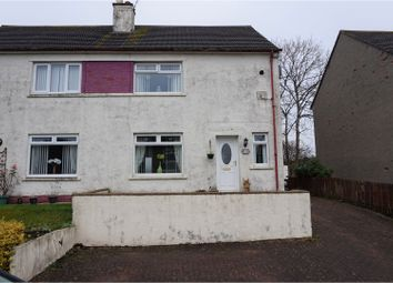 Thumbnail 3 bedroom semi-detached house for sale in Glenconner Place, Ayr
