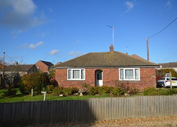 Thumbnail 3 bed detached bungalow for sale in Terrington St John, Wisbech, Cambridgeshire