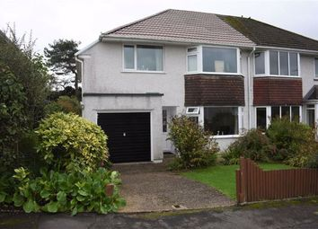Thumbnail 3 bed semi-detached house for sale in Clyne Crescent, Mayals, Mayals Swansea