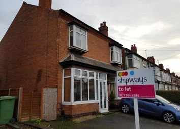 Thumbnail 2 bedroom property to rent in Olton Road, Shirley, Solihull