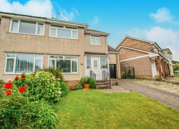 Thumbnail 4 bed semi-detached house for sale in Dochdwy Road, Llandough, Penarth