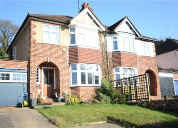 Thumbnail 3 bedroom semi-detached house for sale in Hemdean Road, Caversham, Reading