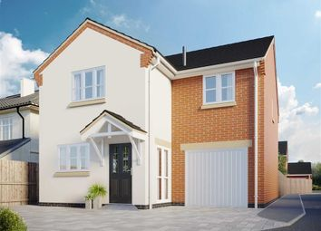 Thumbnail 4 bed detached house for sale in Kathleen Close, Leicester