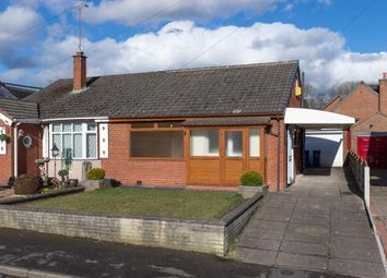 Thumbnail 2 bed semi-detached bungalow for sale in Braemar Close, Stoke-On-Trent