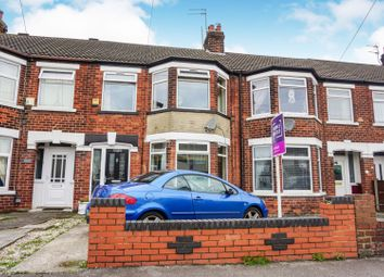 Thumbnail 3 bed terraced house for sale in Meadowbank Road, Hull