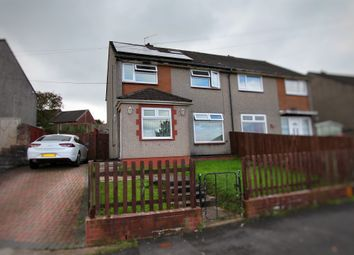 Thumbnail 4 bed semi-detached house for sale in Monnow Way, Bettws, Newport