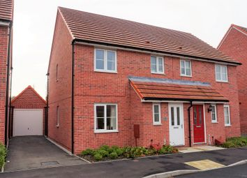 Thumbnail 3 bed semi-detached house for sale in Sentinel Close, Worcester