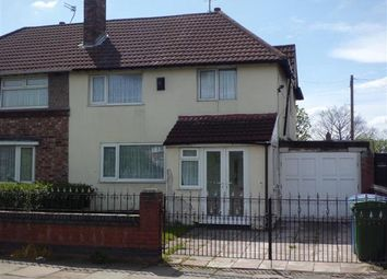 Thumbnail 3 bed semi-detached house for sale in Sandforth Court, Queens Drive, West Derby, Liverpool