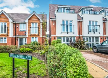Thumbnail 3 bedroom end terrace house for sale in Kensal Green Drive, Maidenhead