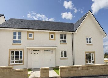 "Thumbnail 3 bedroom end terrace house for sale in ""Cawdor"" at Gyle Avenue, South Gyle Broadway, Edinburgh"