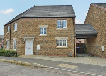 Thumbnail 3 bed semi-detached house for sale in Dragonfly Way, Dragonfly Meadows, Northampton
