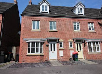 Thumbnail 4 bedroom end terrace house for sale in Buccaneer Close, St. Brides Wentlooge, Newport