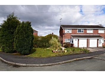 Thumbnail 3 bed semi-detached house for sale in Waldron Gardens, Crewe