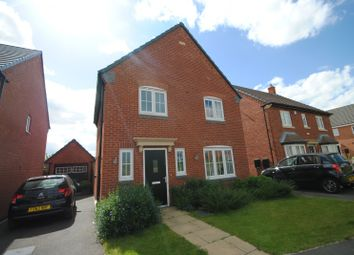 Thumbnail 3 bed detached house to rent in Abbott Drive, Stoney Stanton, Leicester