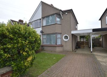 Thumbnail 3 bed semi-detached house to rent in Cumberland Avenue, Welling, Kent