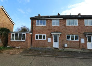 Thumbnail 4 bedroom semi-detached house to rent in Bailiwick Court, East Harling, Norwich