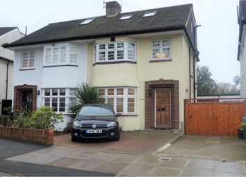 Thumbnail 4 bed semi-detached house to rent in Craneford Way, Twickenham