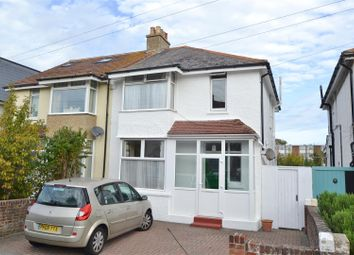 3 bed semi-detached house for sale in Woodgate Road, Eastbourne BN22