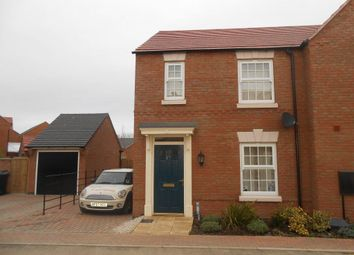 Thumbnail 3 bed semi-detached house to rent in Charlotte Way, Peterborough