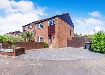 Thumbnail 3 bed semi-detached house for sale in St Nicholas Way, Islip, Kettering
