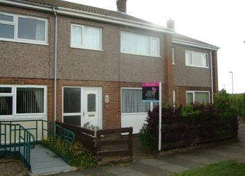 Thumbnail 3 bed terraced house to rent in Norwich Close, Ashington, Northumberland
