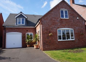 Thumbnail 4 bed detached house for sale in Cornforth Close, Trinity Road, Kingsbury, Tamworth