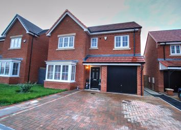 Thumbnail 4 bed detached house for sale in Daisy Close, Portland Wynd, Blyth