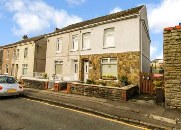 3 bed semi-detached house for sale in James Street, Pontarddulais, Swansea SA4