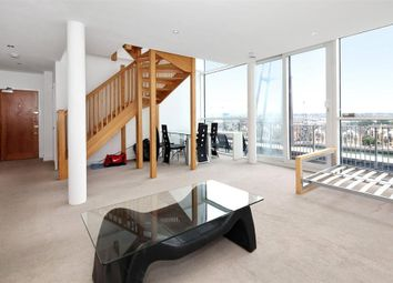 Thumbnail 3 bed flat for sale in Capital East Apartments, Western Gateway, Royal Victoria Docks, Canary Wharf, London