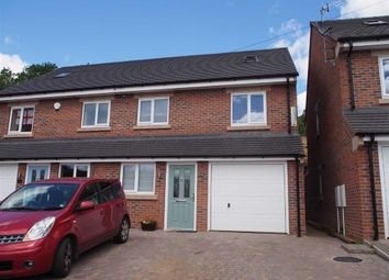 Thumbnail 4 bed semi-detached house for sale in Park Road, Leek