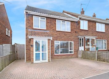 Thumbnail 3 bed end terrace house for sale in Keary Road, Swanscombe, Kent