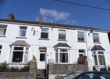 Thumbnail 3 bed terraced house for sale in Station Row, Pontyrhyl, Bridgend