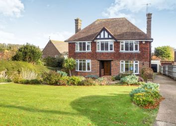 Thumbnail 4 bed detached house for sale in Manor Way, Eastbourne