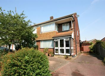 Thumbnail 4 bed semi-detached house for sale in Onslow Gardens, Ongar