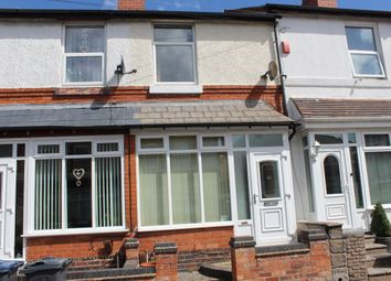 Thumbnail 2 bed terraced house for sale in Wroxton Road, Birmingham