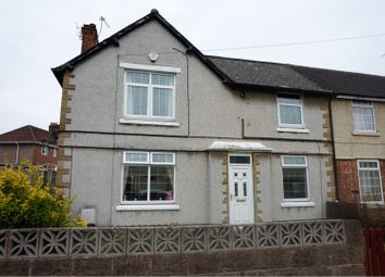 Thumbnail 3 bed end terrace house for sale in Mansfield Crescent, Doncaster