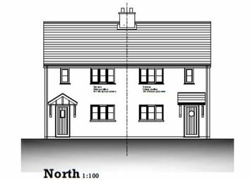 Thumbnail 3 bedroom semi-detached house for sale in Hospital Road, Stratton, Bude