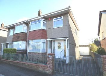 Thumbnail 3 bed semi-detached house for sale in Crownhill, Plymouth, Devon