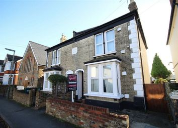 Thumbnail 3 bed semi-detached house for sale in Richmond Road, Staines Upon Thames, Surrey