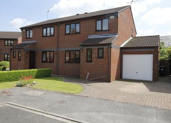Thumbnail 3 bed semi-detached house for sale in Low Meadow, Selby