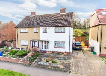 Thumbnail 3 bed semi-detached house for sale in Sanger Avenue, Chessington