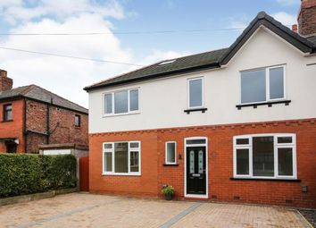 Thumbnail 4 bed semi-detached house for sale in Kinder Grove, Romiley, Stockport, Greater Manchester