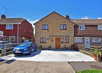 Thumbnail 3 bed semi-detached house for sale in Lawrence Avenue, Rustington, West Sussex
