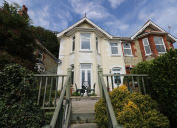 Thumbnail 4 bed semi-detached house for sale in Bellevue Road, Ventnor