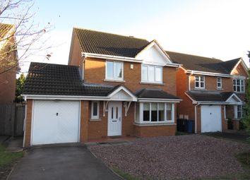 Thumbnail 4 bed detached house to rent in Alexander Close, Fradley, Lichfield