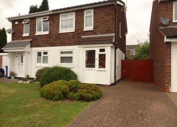 Thumbnail 2 bed semi-detached house for sale in Dace, Tamworth