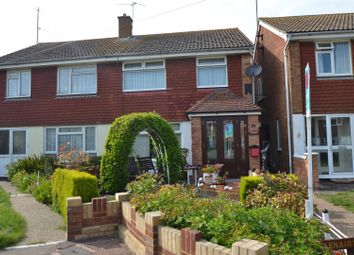 Thumbnail 4 bed semi-detached house for sale in Roselands Close, Eastbourne