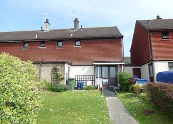Thumbnail 2 bed end terrace house for sale in Dinam Road, Caergeiliog, Anglesey