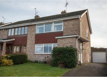 Thumbnail 3 bedroom semi-detached house for sale in Sidmouth Grange Close, Earley